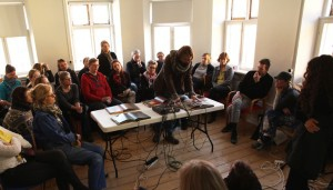 performance and lecture at Aarhus Art Academy