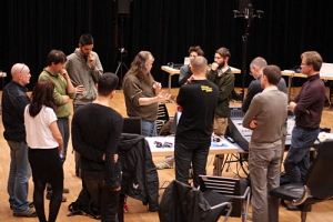 workshop at the ZKM-Kubus | Institute for Music und Acoustics